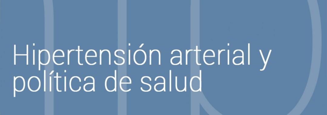 Hipertensión arterial y política de salud en España