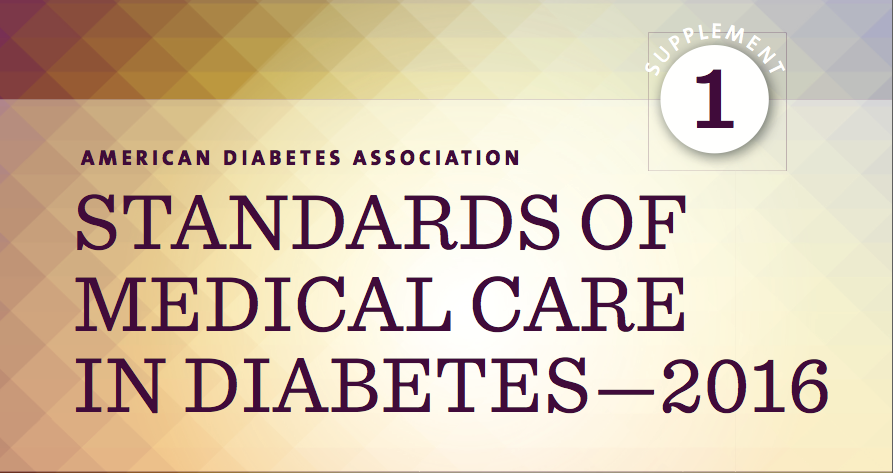 Guía sobre los estándares de los cuidados médicos en la diabetes