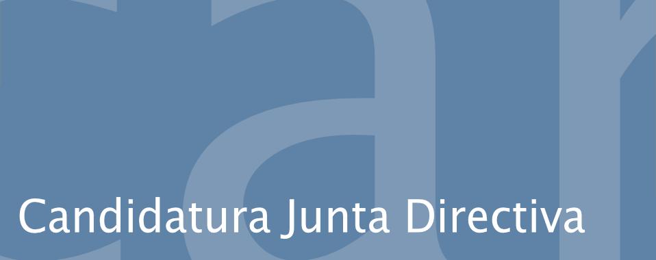 candidatura junta directiva ehrica