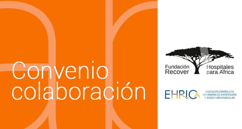 Convenio de Colaboración entre EHRICA y RECOVER