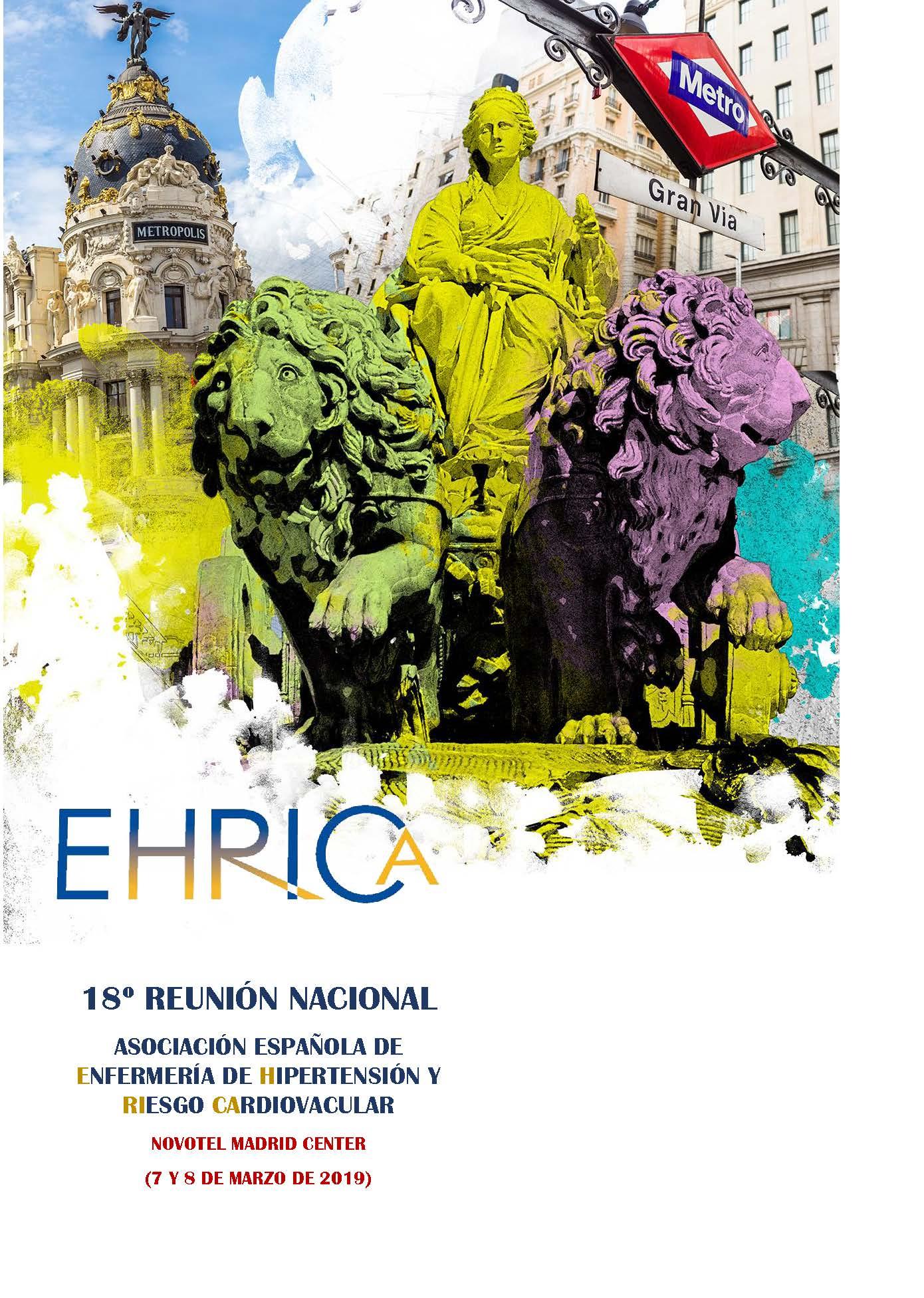 Cartel de la 18ª Reunión Nacional EHRICA