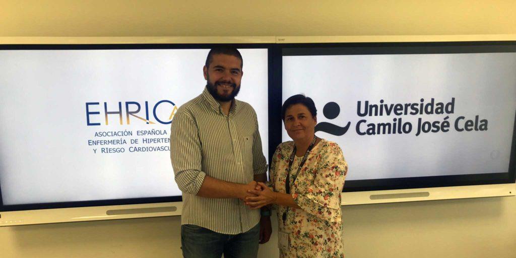 Convenio entre la Universidad Camilo José Cela y EHRICA