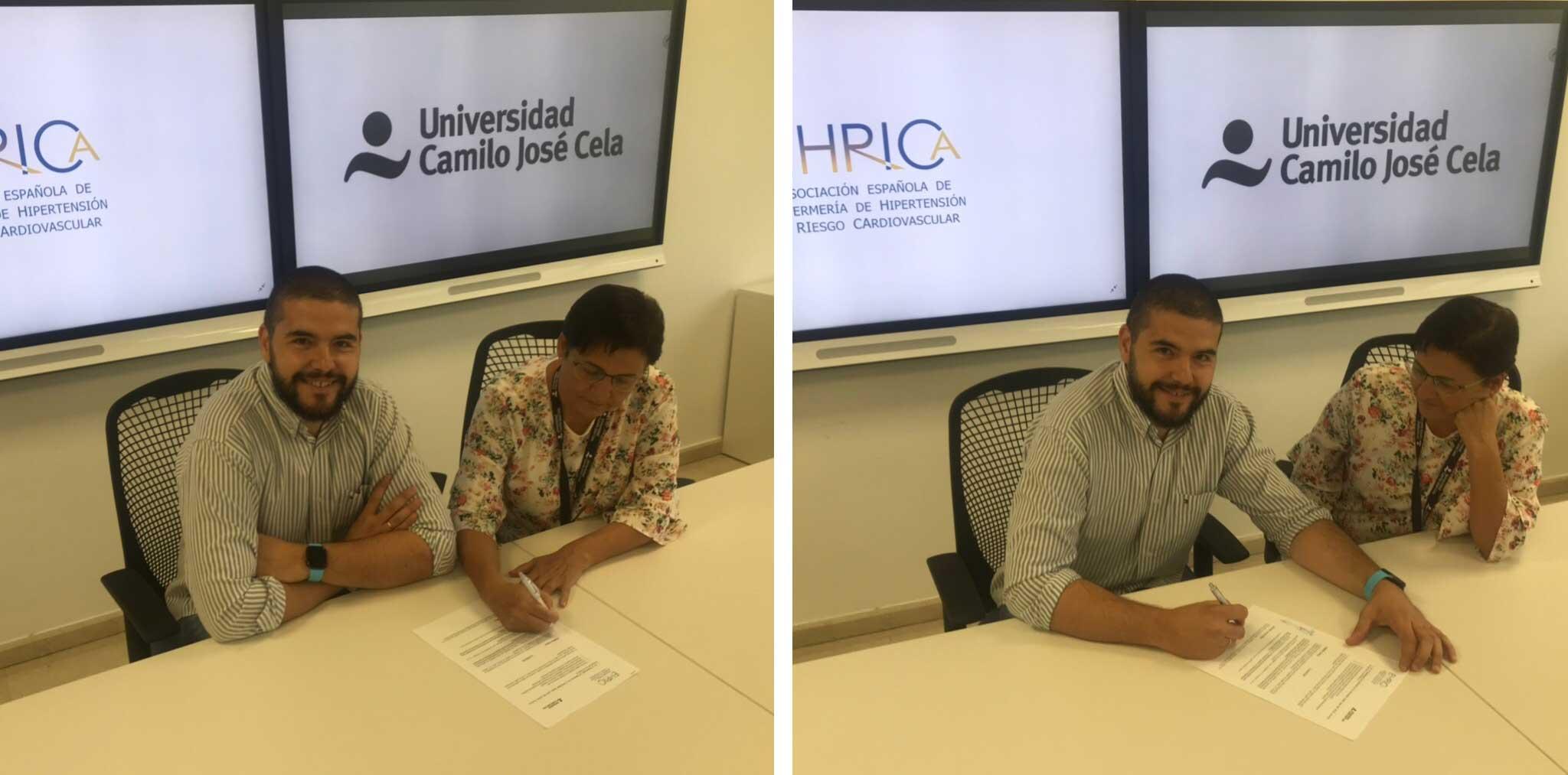 firma del convenio entre ehrica y la ucjc