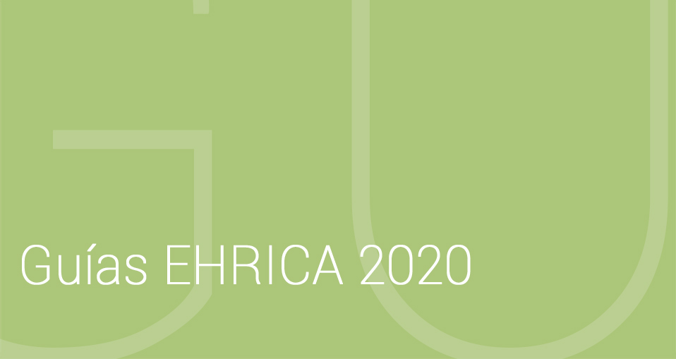 Accede a las guías EHRICA 2020